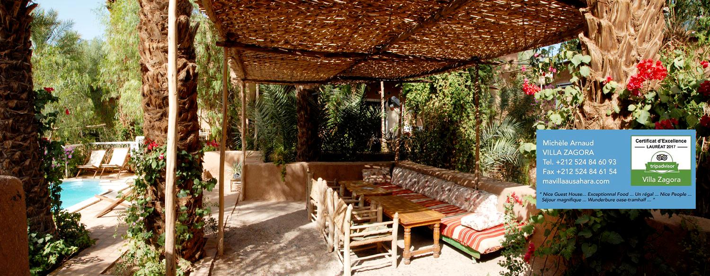 Salon Jardin Villa Zagora Maison D 39 H Tes Zagora