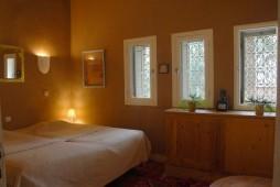 Chambre Bougainvillier 25 m² avec 2 lits twins en 90 cm