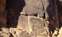 Gravures Lybico berbères de Foum Chenne - Villa Zagora