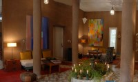 Le hall d'entrée de la Villa Zagora - Ma villa au Sahara