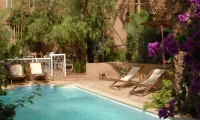 Piscine et jardin de la Villa Zagora